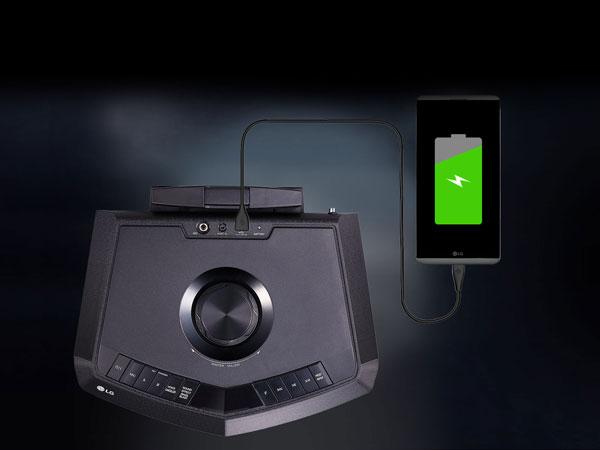 قابلیت شارژدهی تا 15 ساعت XBOOM FH2