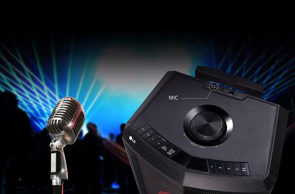 قابلیت کارائوکه در سیستم صوتی XBOOM FH2