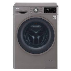 نمای ماشین لباسشویی ال جی 8KG مدل J6 از روبرو