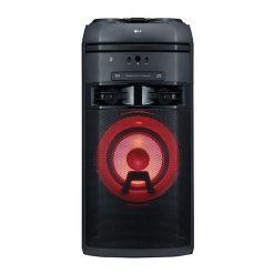 نمای سیستم صوتی بلوتوثی ال جی مدل XBOOM OK55 از روبرو
