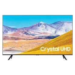 نمای تلویزیون سامسونگ 55 اینچ مدل 55TU8000 از روبرو