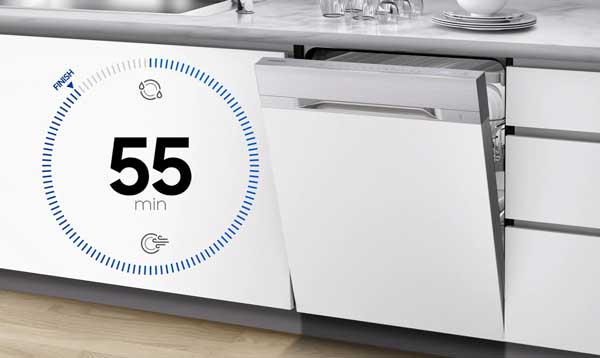 برنامه شستشوی سریع ماشین ظرفشویی 9530