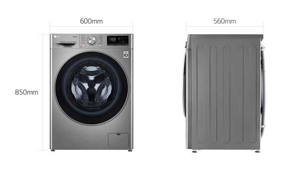 ماشین لباسشویی 9KG سری 2020 مدل V5