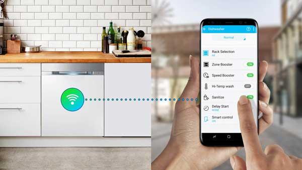 ماشین ظرفشویی هوشمند سامسونگ 9530