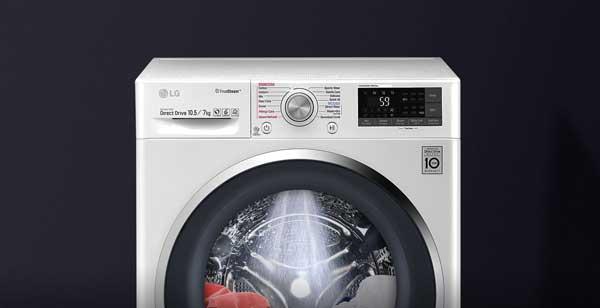 ماشین لباسشویی ال جی توربو