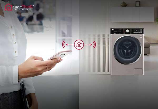 ماشین لباسشویی هوشمند ال جی