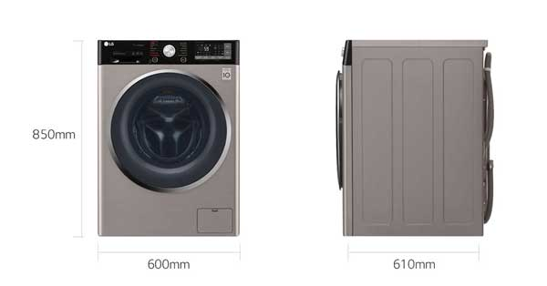 ماشین لباسشویی بخارشو دار J9