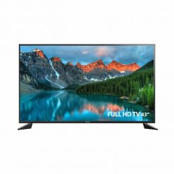 طراحی تلویزیون اسنوا 43 اینچ مدل 43SA120 از روبرو