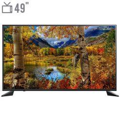 نمای تلویزیون اسنوا 49 اینچ مدل 49SA120 از روبرو