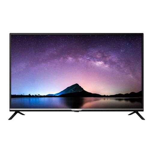 نمای تلویزیون جی پلاس 43 اینچ مدل 43JH512N از روبر