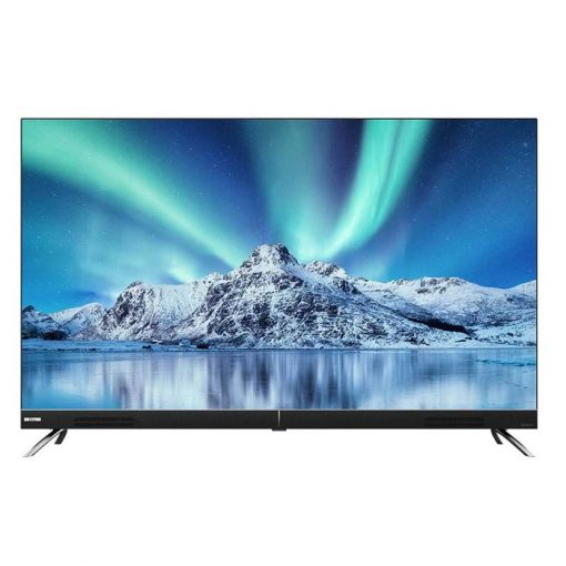 نمای تلویزیون جی پلاس 55 اینچ مدل 55JU922S از روبر