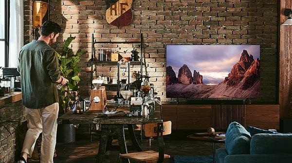 تلویزیون سامسونگ مدل 50TU7000 با صدای 20 وات