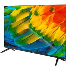 نمای تلویزیون اسنوا 43 اینچ 43SA260 از زاویه راست