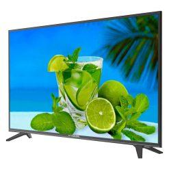 طراحی تلویزیون ایکس ویژن 43 اینچ مدل 43XT520 از زاویه راست