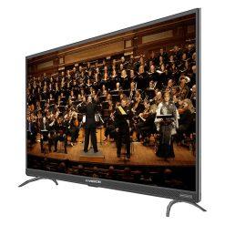 طراحی تلویزیون ایکس ویژن 55 اینچ مدل 55XTU725 از زاویه راست