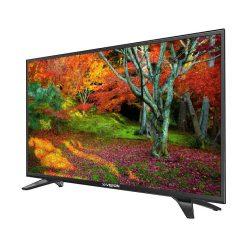 نمای تلویزیون ایکس ویژن 49 اینچ مدل 49XT530 از زاویه راست