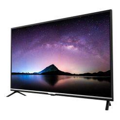 نمای تلویزیون جی پلاس 43 اینچ مدل 43JH512N از راست