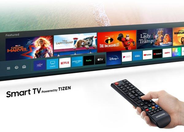 رابط کاربری تلویزیون 75TU8000