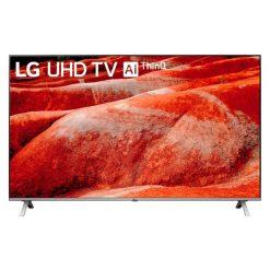 طراحی تلویزیون ال جی 65 اینچ مدل 65UN8060 از روبرو