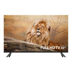نمای تلویزیون اسنوا 43 اینچ مدل 43SA560 از روبرو