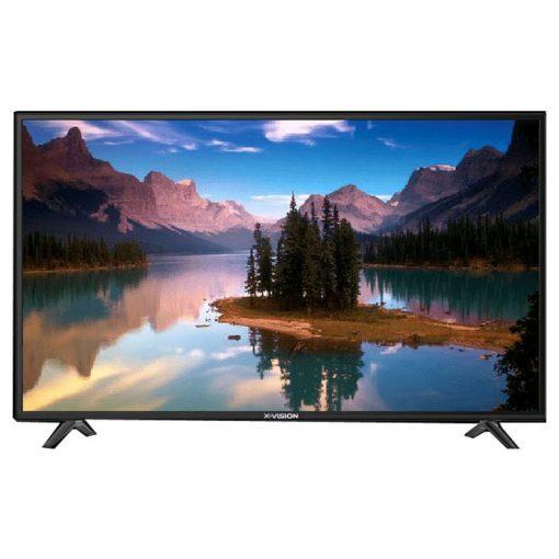 نمای تلویزیون ایکس ویژن 43 اینچ مدل 43XK570 از روبرو