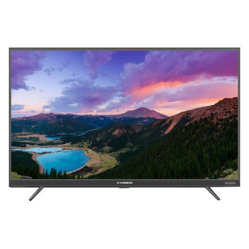 نمای تلویزیون ایکس ویژن 43 اینچ مدل 43xt725 از روبرو