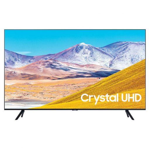 طراحی زیبای تلویزیون سامسونگ 50 اینچ مدل 50TU8000 از روبرو
