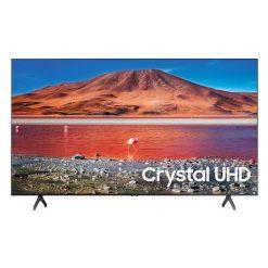 نمای خشکل تلویزیون سامسونگ 50 اینچ مدل 50TU7000 از روبرو