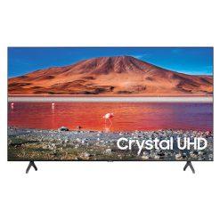 طراحی زیبای تلویزیون سامسونگ 58 اینچ مدل 58TU7000 از روبرو