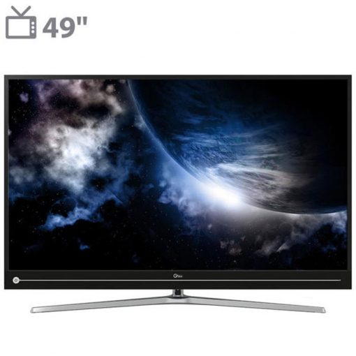نمای تلویزیون جی پلاس 49 اینچ مدل 49JU811N از روبر