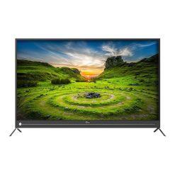 نمای تلویزیون جی پلاس 49 اینچ مدل 49JU812N از روبر