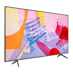 طراحی تلویزیون سامسونگ 55 اینچ مدل 50Q60T از زاویه چپ