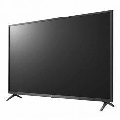 نمای تلویزیون ال جی 50 اینچ مدل 50UN7340 از زاویه راست