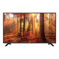 نمای تلویزیون جی پلاس 43 اینچ مدل 43FH512N از روبرو