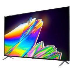 طراحی تلویزیون ال جی 65 اینچ مدل 65NANO95 از زاویه راست