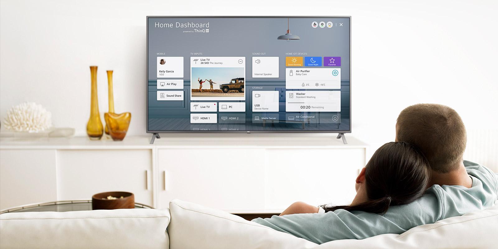 تلویزیون هوشمند ال جی مدل 86NANO90