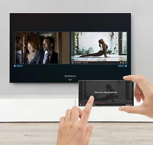 تلویزیون هوشمند سامسونگ مدل 82Q800T