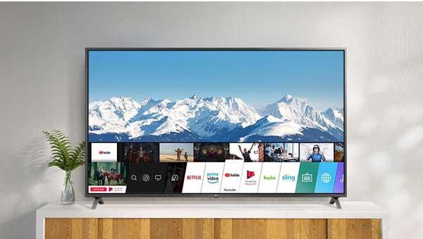 تلویزیون WebOS ال جی مدل 55UN7300
