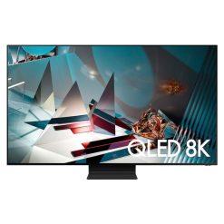 نمای تلویزیون سامسونگ 82 اینچ مدل 82Q800T از روبرو