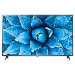 طراحی تلویزیون ال جی 55 اینچ مدل 55UN7300 از روبرو