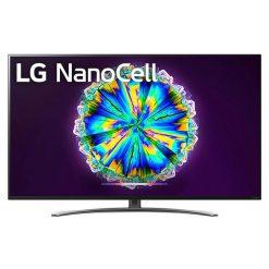 نمای تلویزیون ال جی 65 اینچ مدل 65NANO86 از روبرو
