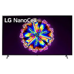 طراحی تلویزیون ال جی 86 اینچ مدل 86NANO90 از روبرو