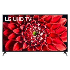 طراحی تلویزیون ال جی 75 اینچ مدل 75UN7180 از روبرو