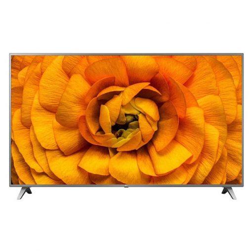 نمای تلویزیون ال جی 82 اینچ مدل 82UN8570 از روبرو