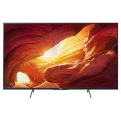 نمای تلویزیون سونی 49 اینچ مدل 49X8500H از روبرو