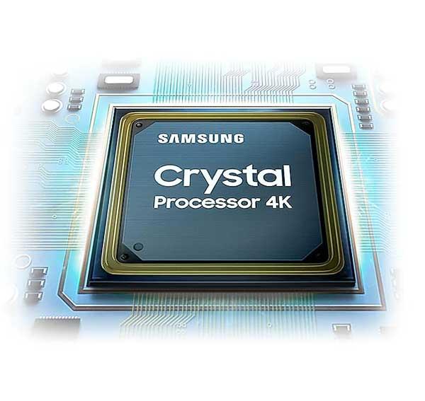 پردازندهی Crystal 4k سامسونگ 2020