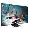 طراحی تلویزیون سامسونگ 75 اینچ مدل 75Q800T از زاویه چپ