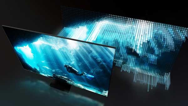 قابلیت نوردهی موضعی تلویزیون سامسونگ 65Q800T