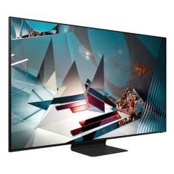 طراحی تلویزیون سامسونگ 65 اینچ مدل 65Q800T از زاویه چپ