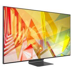 طراحی تلویزیون سامسونگ 65 اینچ مدل 65Q95T از زاویه چپ